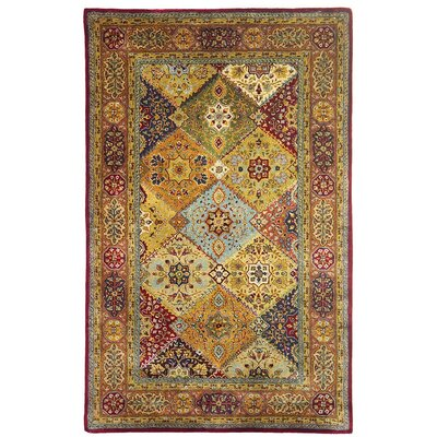 Empress Red Area Rug Rug Size: 5 x 8