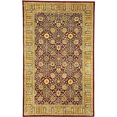 Empress Red Area Rug Rug Size: Rectangle 4 x 6