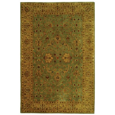 Empress Light Yellow Area Rug Rug Size: Rectangle 5 x 8