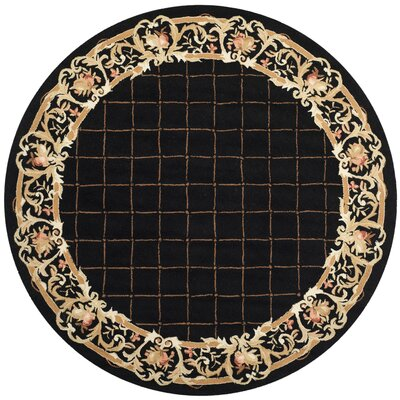 Weaver Black / Miranda Area Rug Rug Size: Rectangle 3'9