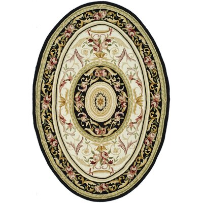 Weaver Ivory / Black Area Rug