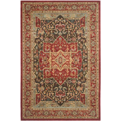 Pennypacker Red Area Rug Rug Size: 22 x 4