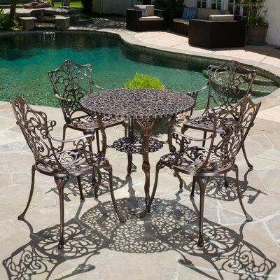 Neville 5 Piece Dining Set