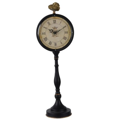 Pedestal Tabletop Clock Size: Large