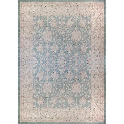 Lila Light Blue Area Rug