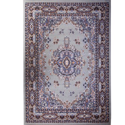 Lilly Silver Area Rug Rug Size: Rectangle 52 x 74