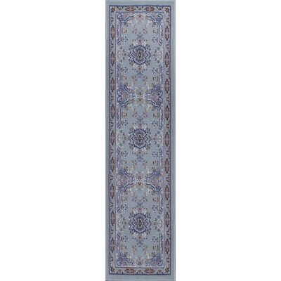Lilly Silver Area Rug Rug Size: Runner 19 x 72