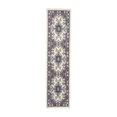 Lilly Porcelain Blue Area Rug Rug Size: Runner 110 x 73