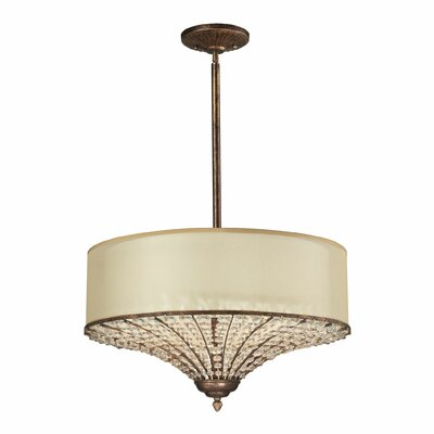 Lorena 3-Light Drum Pendant