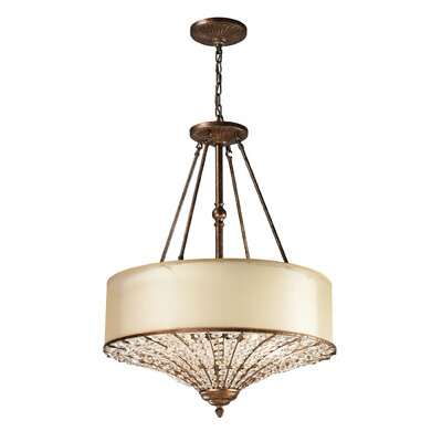 Lorena 4-Light Drum Pendant