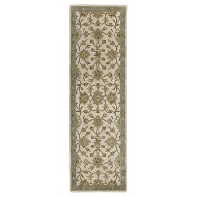 Pauline St. George Ivory Area Rug Rug Size: Runner 23 x 76