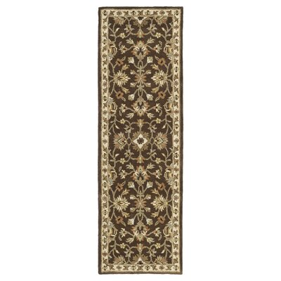 Pauline Brown Rug Rug Size: Runner 23 x 76