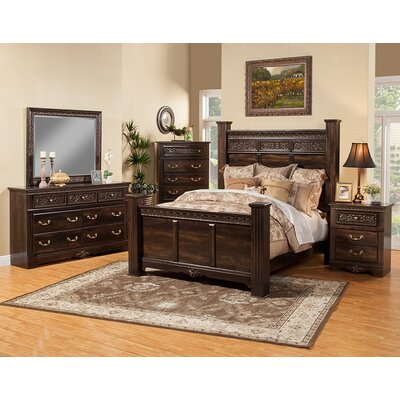 Boyers Traditional Panel Customizable Bedroom Set