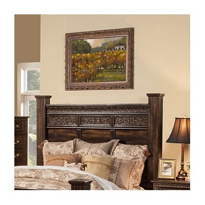 Boyers Panel Headboard Size: King