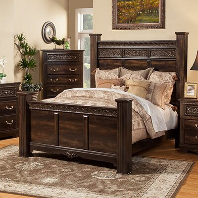 Boyers Panel Bed Size: California King