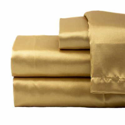 Tiffany 280 Thread Count Sheet Set Size: King, Color: Gold