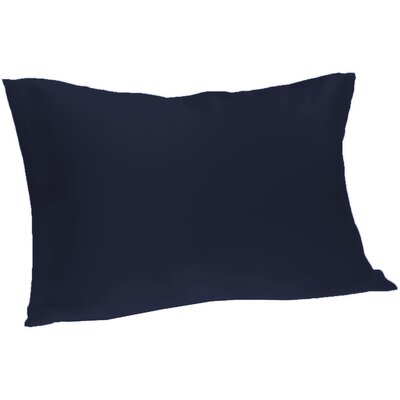 Dalton Satin Pillowcase Size: Queen, Color: Navy