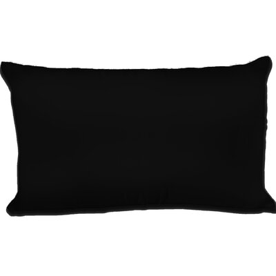 Dalton Satin Pillowcase Size: Queen, Color: Black