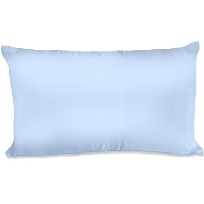 Dalton Satin Pillowcase Size: King, Color: Blue