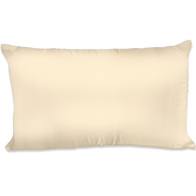 Dalton Satin Pillowcase Size: King, Color: Gold