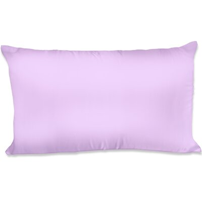 Dalton Satin Pillowcase Size: King, Color: Lavender
