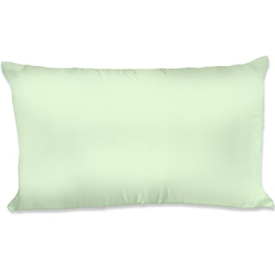 Dalton Satin Pillowcase Size: King, Color: Sage