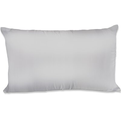 Dalton Satin Pillowcase Size: Queen, Color: Silver