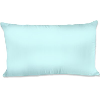Dalton Satin Pillowcase Size: King, Color: Aqua