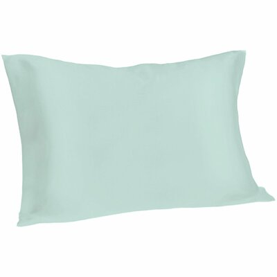 Dale Silk Pillowcase Size: Queen, Color: Aqua