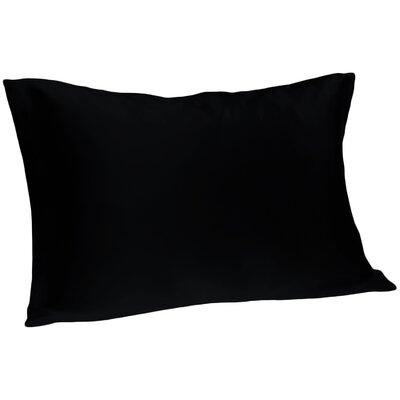 Dale Silk Pillowcase Color: Black, Size: King