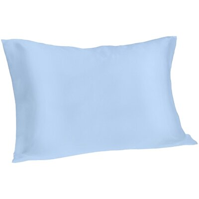 Dale Silk Pillowcase Size: Queen, Color: Blue