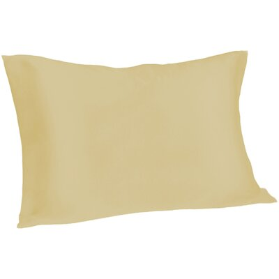 Dale Silk Pillowcase Size: Queen, Color: Champagne