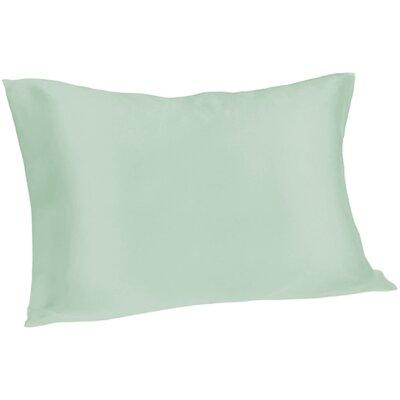Dale Silk Pillowcase Size: Queen, Color: Light Blue