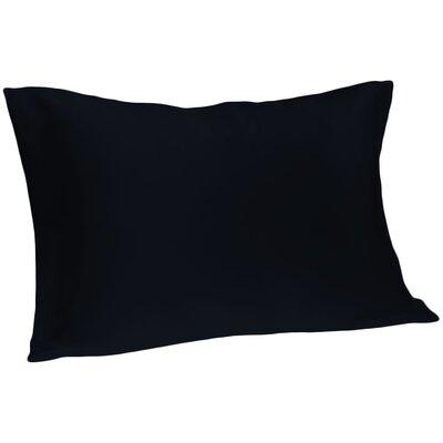 Dale Silk Pillowcase Size: Queen, Color: Navy
