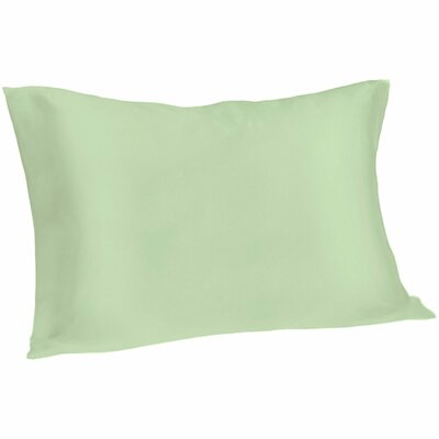 Dale Silk Pillowcase Size: Queen, Color: Sage