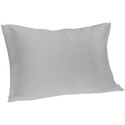 Dale Silk Pillowcase Size: Queen, Color: Silver