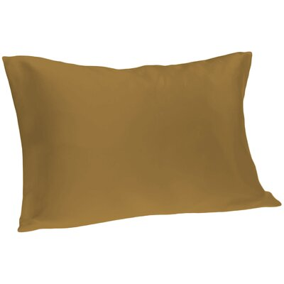 Dale Silk Pillowcase Size: Queen, Color: Taupe