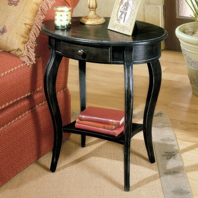 Bedingfield Oval End Table Finish: Brushed Sable