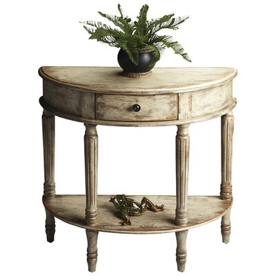 Dorine Console Table Finish: Distressed Chateau Gray