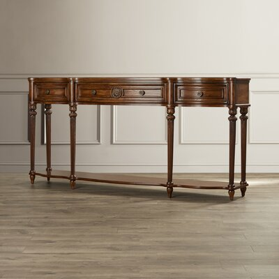 Adalia Console Table Finish: Vintage Oak