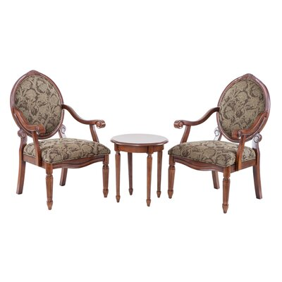 Cornelli 3 Piece Arm Chair Set