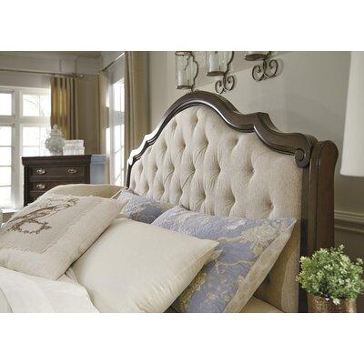 Hardwick Upholstered Panel Headboard Size: Queen