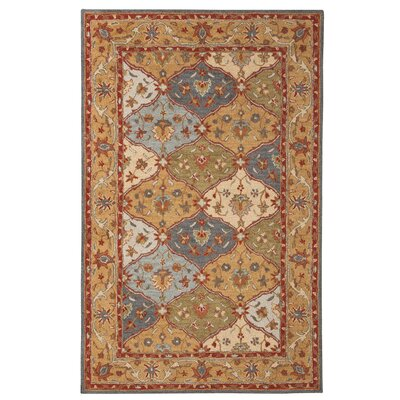 Mornes Hand-Tufted Beige Area Rug Rug Size: 8 x 10