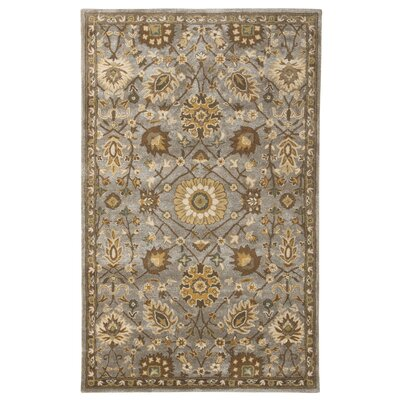 Mornes Brown Area Rug Rug Size: 5 x 76