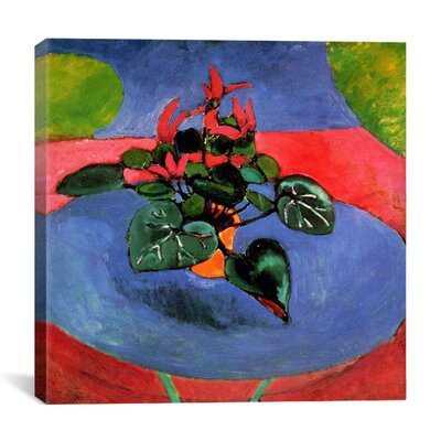 Astoria Grand Cyclamen Pourpre 1912 Painting Print on Canvas