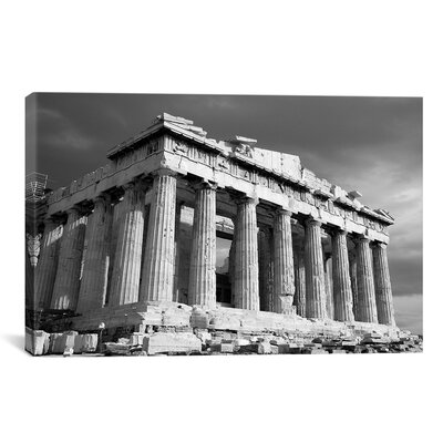 Parthenon Athens Photographic Print on Canvas Size: 12
