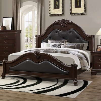 Lawrence Upholstered Panel Bed Size: King