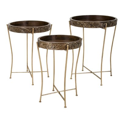 Barnsdale 3 Piece End Table Set