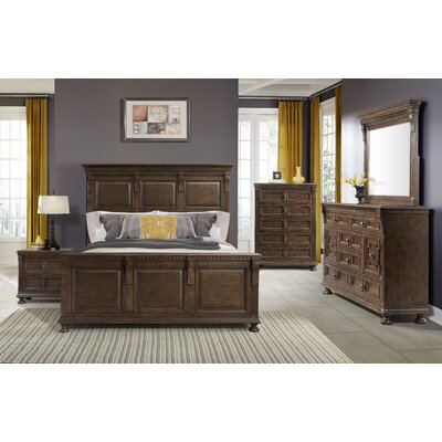 Deven 6 Drawer Dresser with Mirror