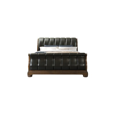 Alvina Upholstered Sleigh Bed